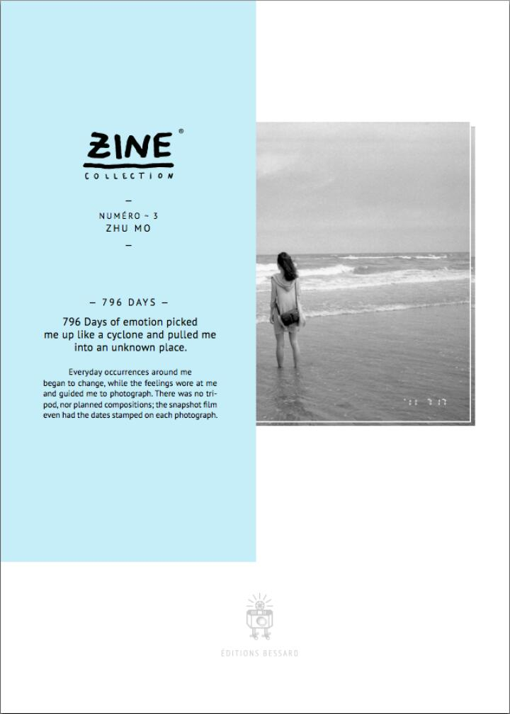 Zhu Mo: Zine Collection N°3: The Emptiness (signed + print